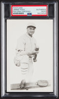 Autographs:Index Cards, Jimmie Foxx Signed Postcard, Slabbed by PSA, Authentic. ...