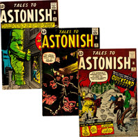 Tales to Astonish Group of 8 (Marvel, 1959-62) Condition: Average VG.... (Total: 8 Items)
