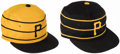 Baseball Collectibles:Hats, Willie Stargell Signed Pittsburgh Pirates Hats, Lot of 2....
