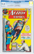 Bronze Age (1970-1979):Superhero, Action Comics #404 (DC, 1971) CGC NM/MT 9.8 Off-white to white pages....