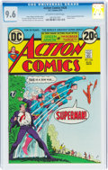 Bronze Age (1970-1979):Superhero, Action Comics #426 (DC, 1973) CGC NM+ 9.6 Off-white to white pages....