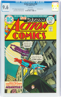 Action Comics #430 (DC, 1973) CGC NM+ 9.6 White pages