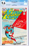 Bronze Age (1970-1979):Superhero, Action Comics #433 (DC, 1974) CGC NM+ 9.6 White pages....