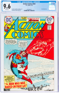 Action Comics #433 (DC, 1974) CGC NM+ 9.6 White pages