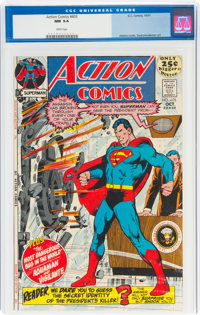 Action Comics #405 (DC, 1971) CGC NM 9.4 White pages