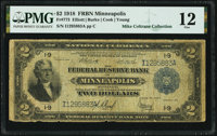 Fr. 773 $2 1918 Federal Reserve Bank Note PMG Fine 12