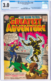 My Greatest Adventure #80 (DC, 1963) CGC GD/VG 3.0 Cream to off-white pages
