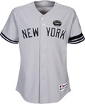 Baseball Collectibles:Uniforms, 2010 Mariano Rivera Game Worn New York Yankees Jersey - Photo Matched to 8-29 vs. White Sox in Save Performance. ...