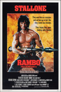 """Movie Posters:Action, Rambo: First Blood Part II & Other Lot (Tri-Star, 1985). Rolled, Overall: Very Fine-. One Sheets (2) (27"""" X 41"""" & 26.75"""" X 3... (Total: 2 Items)"""