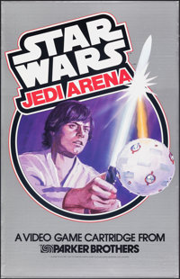"Star Wars: Jedi Arena (Parker Brothers, 1983). Rolled, Near Mint-. Video Game Poster (23"" X 36""). Science Fict..."