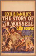 """Movie Posters:War, The Story of Dr. Wassell (Paramount, 1944). Fine/Very Fine. Window Card (14"""" X 22""""). War.. ..."""
