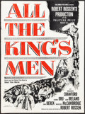 """Movie Posters:Academy Award Winners, All the King's Men (Columbia, 1949). Fine. Uncut Pressbook (8 Pages, 12"""" X 16.25"""") with Cut Ad Supplements (3) (Multiple Pag..."""