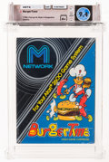 Video Games:Atari, BurgerTime - Wata 9.4 A+ Sealed, 2600 M-Network 1982 USA....