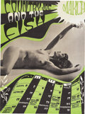 Music Memorabilia:Posters, Country Joe and the Fish March Calendar Concert Poster (JoyfulWisdom Enterprises, 1967). This is one of a series of Country...