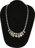 Movie/TV Memorabilia:Costumes, Marilyn Monroe's Faux Diamond Necklace. Attractive faux diamond necklace owned and worn by Marilyn. The actress and the jewe...