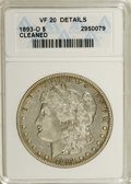 Morgan Dollars: , 1893-O $1 --Cleaned--ANACS. VF20 Details. NGC Census: (119/1500). PCGS Population (27/1857). Mintage: 300,000. Numismedia Ws...