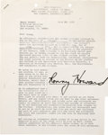 """Movie/TV Memorabilia:Autographs and Signed Items, Ron Howard Signed """"American Graffiti"""" Contract. A two-page contracton Lucasfilm letterhead dated June 26, 1973, engaging th..."""