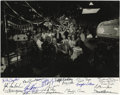 """Movie/TV Memorabilia:Autographs and Signed Items, Cast Signed """"The Iceman Cometh"""" Photo. A b&w 11"""" x 14"""" castphoto from the 1973 adaptation of Eugene O'Neill's classic play,..."""