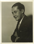 "Movie/TV Memorabilia:Photos, Original Irving Thalberg Photo Portrait by Russell Ball. a b&w11"" x 14"" photo portrait of the legendary producer by Hollywo..."