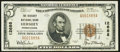 National Bank Notes:Pennsylvania, Hershey, PA - $5 1929 Ty. 1 The Hershey National Bank Ch. # 12688 Very Fine-Extremely Fine.. ...