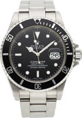 Timepieces:Wristwatch, Rolex, Ref. 16610 Submariner, Stainless Steel, circa 2000. ...