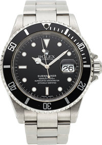 Rolex, Ref. 16610 Submariner, Stainless Steel, circa 2000