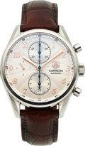 Timepieces:Wristwatch, Tag Heuer, Carrera Heritage Automatic Chronograph, Ref. CAS2112. ...