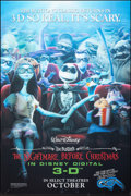 "Movie Posters:Animation, The Nightmare Before Christmas (Walt Disney Pictures, R-2007). Very Fine. Lenticular One Sheet (27"" X 40"") 3-D Advance. Anim..."