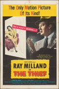"""Movie Posters:Crime, The Thief & Other Lot (United Artists, 1952). Folded, Fine. One Sheets (2) (27"""" X 41"""") & Lobby Card (11"""" X 14""""). Crime.. ... (Total: 3 Items)"""