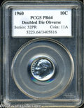 Proof Roosevelt Dimes: , 1960 10C Doubled Die Obverse PR64 PCGS. FS-015. DDO 5-O-I....
