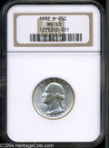 Washington Quarters: , 1932-D 25C MS65 NGC. The Denver Mint inaugurated ...