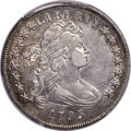 Early Dollars, 1795 $1 Draped Bust, Off-Center, B-14, BB-51, R.2, AU53 PCGS....