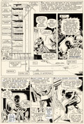 Original Comic Art:Panel Pages, Bob Powell and Wally Wood Daredevil #10 Story Page 10 Original Art (Marvel, 1965)....