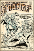 Original Comic Art:Covers, Carmine Infantino and Murphy Anderson Strange Adventures #222 Cover Adam Strange Original Art (DC, 1970)....