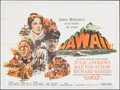 "Movie Posters:Drama, Hawaii & Other Lot (United Artists, 1966). Folded, Fine+. British Quads (2) (30"" X 40""). Drama.. ... (Total: 2 Items)"