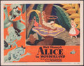 "Movie Posters:Animation, Alice in Wonderland (RKO, 1951). Fine/Very Fine. Lobby Card (11"" X 14""). Animation.. ..."
