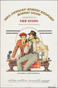 """Movie Posters:Crime, The Sting (Universal, 1973). Folded, Fine/Very Fine. One Sheet (27"""" X 41"""") Richard Amsel Artwork. Crime.. ..."""