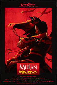 """Mulan & Other Lot (Buena Vista, 1998). Rolled, Very Fine-. One Sheets (4) (27"""" X 40"""") DS, Regular & Ad..."""