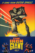 """Movie Posters:Animation, The Iron Giant (Warner Bros., 1999). Rolled, Very Fine+. One Sheet (27"""" X 40"""") DS Advance. Animation.. ..."""