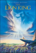 """Movie Posters:Animation, The Lion King (Buena Vista, 1994). Rolled, Very Fine+. One Sheet (27"""" X 41""""). DS Advance, John Alvin Artwork. Animation.. ..."""