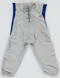 Football Collectibles:Uniforms, 1990s Ty Law Game Worn Pants....