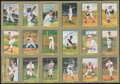 Autographs:Post Cards, 1985-93 Perez-Steele Great Moments Near Set (95/96) With 57 Signed Cards. ...