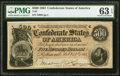 Confederate Notes:1864 Issues, T64 $500 1864 PF-2 Cr. 489 PMG Choice Uncirculated 63 EPQ.. ...