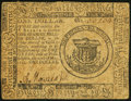 Continental Currency May 10, 1775 $1 Fine-Very Fine