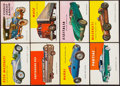 "Non-Sport Cards:Sets, 1954-55 Topps ""World On Wheels"" Partial Set (85/180). ..."