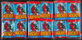 Hockey Cards:Unopened Packs/Display Boxes, 1984 Topps Hockey Unopened Pack Lot of 48. ...
