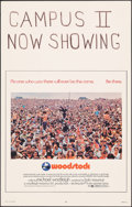 """Movie Posters:Rock and Roll, Woodstock (Warner Bros., 1970). Very Fine+. Window Card (14"""" X 22""""). Rock and Roll.. ..."""