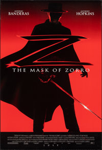 "The Mask of Zorro & Other Lot (Tri-Star, 1998). Rolled, Very Fine. One Sheets (2) (26.75"" X 39.75""). Actio..."