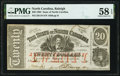 Obsoletes By State:North Carolina, Raleigh, NC- State of North Carolina $20 Jan. 1, 1863 Cr. 119 PMG Choice About Unc 58 EPQ.. ...