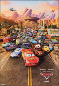 "Movie Posters:Animation, Cars (Buena Vista, 2006). Rolled, Overall: Very Fine. One Sheet (27"" X 40"") DS & Teaser Styles. Animation.. ... (Total: 2 Items)"